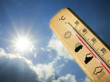 Temperaturas altas con el golpe de calor