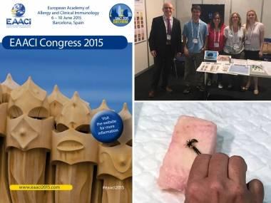 Congrés d'Alergología EAACI 2015 a Barcelona