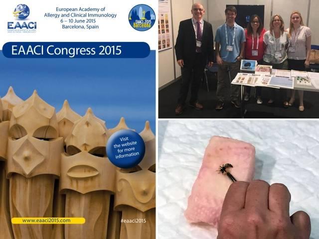 Congreso de Alergología EAACI 2015 en Barcelona