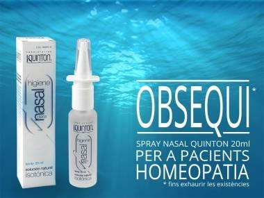 Obsequi spray nasal aigua de mar
