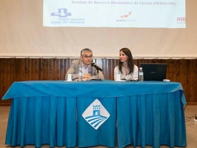 La Dra. María Jesús Muniesa participa en las VII Jornadas de Salud de Torrefarrera