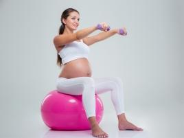 Gimnàstica per embarassades