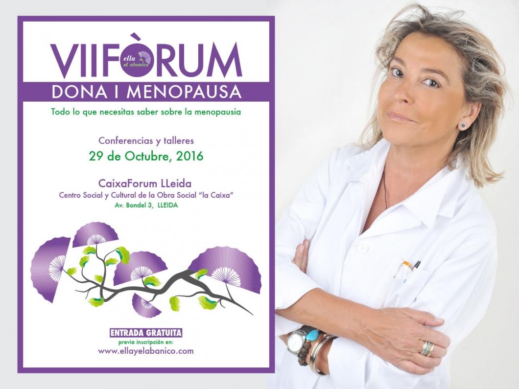 Conferència de la Dra. Helena Biosca al VII Fòrum Dona i Menopausa