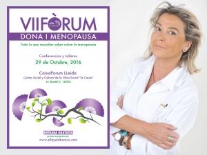 Conferencia de la Dra. Helena Biosca en el VII Fòrum Dona i Menopausa
