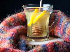 Infusion de miel con limón