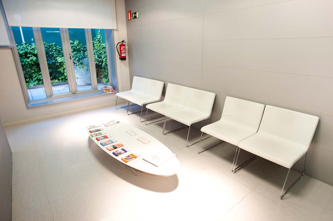 Sala de espera Ginecología