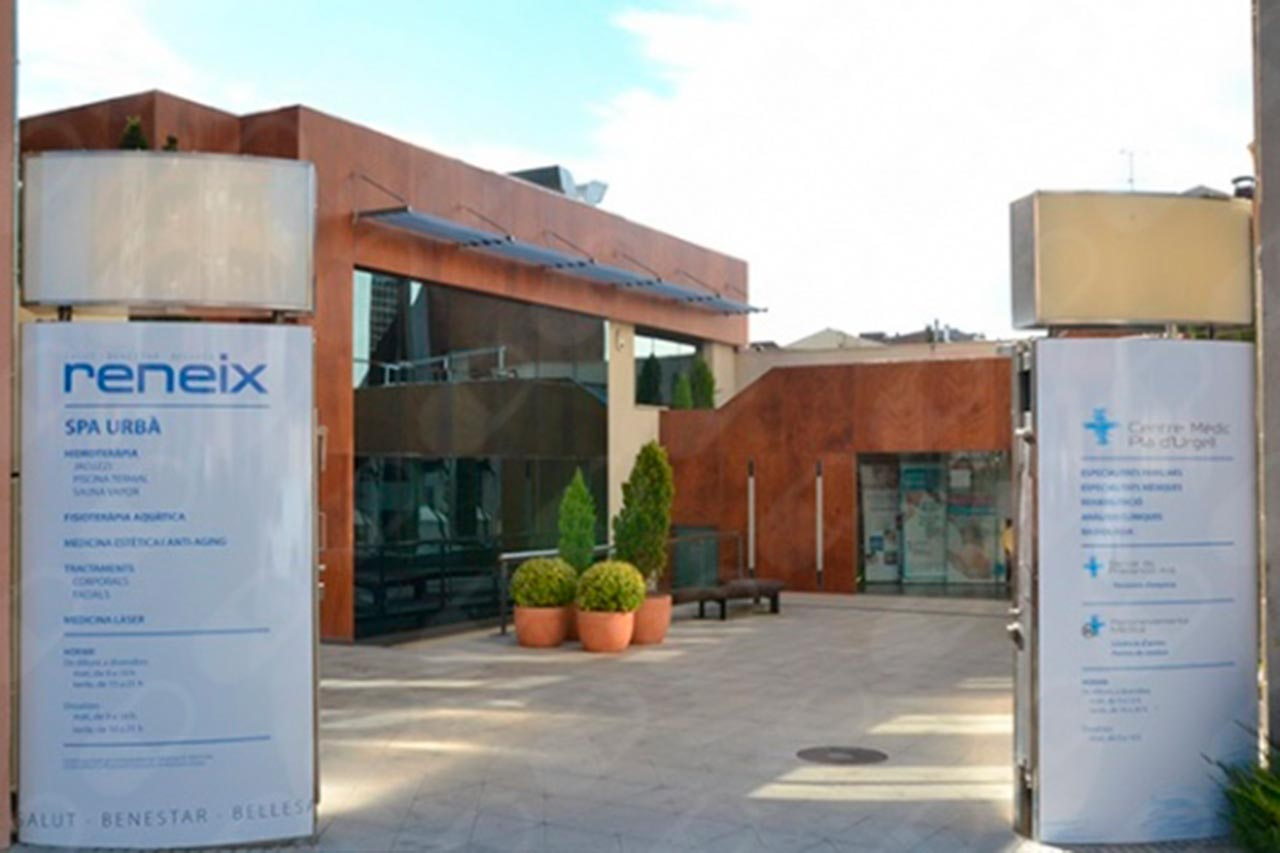 Entrada Centro Médico Pla d'Urgell
