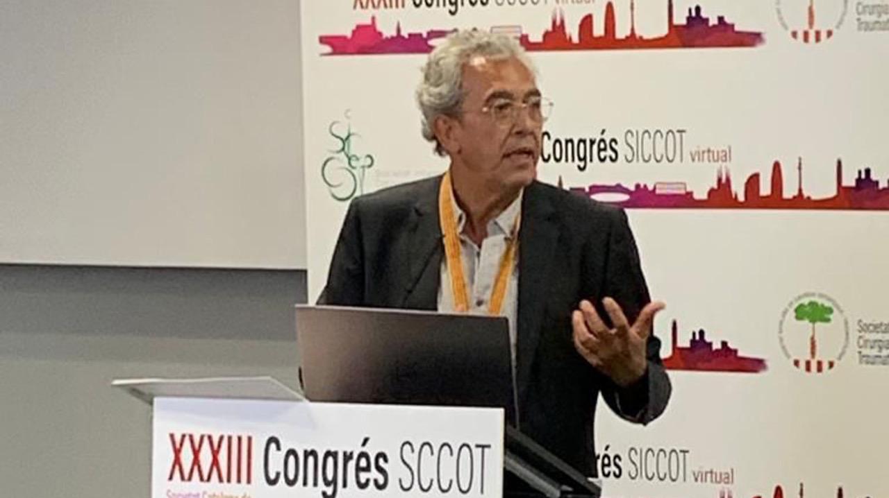 El Dr. Francesc Pallisó, traumatòleg d'Avantmètic, president de la SCCOT